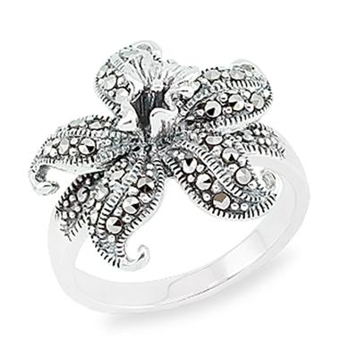 Marcasite jewelry ring HR0866 1