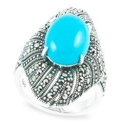 Marcasite jewelry ring HR0871 1