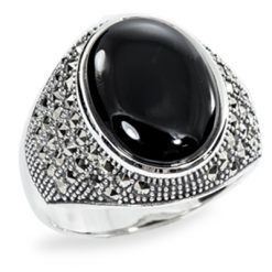 Marcasite jewelry ring HR0875 1