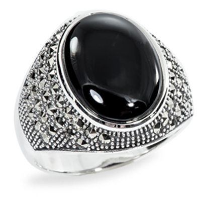 Marcasite jewelry ring HR0875 1