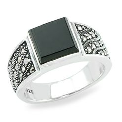 Marcasite jewelry ring HR0882 1