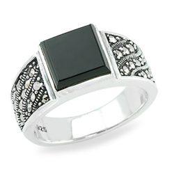 Marcasite jewelry ring HR0882 1