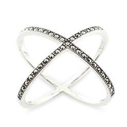 Marcasite jewelry ring HR0890 1