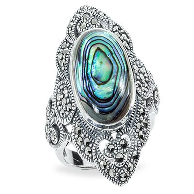 Marcasite jewelry ring HR0892 1