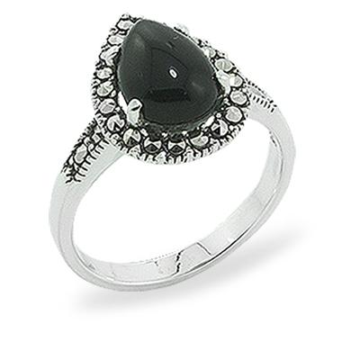 Marcasite jewelry ring HR0896 1