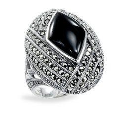 Marcasite jewelry ring HR0897 1