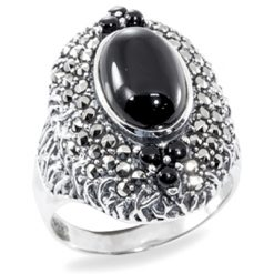 Marcasite jewelry ring HR0900 1