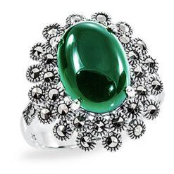 Marcasite jewelry ring HR0901 1