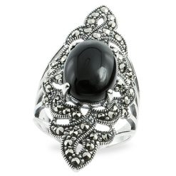 Marcasite jewelry ring HR0905 1