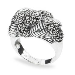 Marcasite jewelry ring HR0907 1