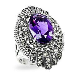 Marcasite jewelry ring HR0910 1