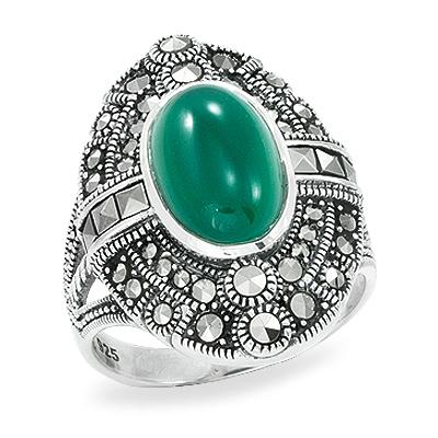 Marcasite jewelry ring HR0911 1