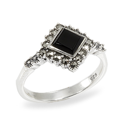 Marcasite jewelry ring HR0921 1
