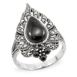 Marcasite jewelry ring HR0924 1