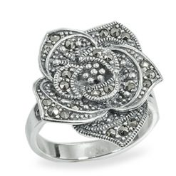 Marcasite jewelry ring HR0926 1