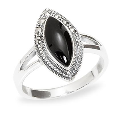 Marcasite jewelry ring HR0929 1