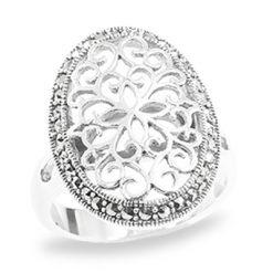 Marcasite jewelry ring HR0934 1