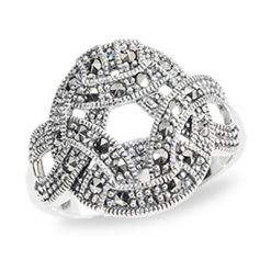Marcasite jewelry ring HR0937 1