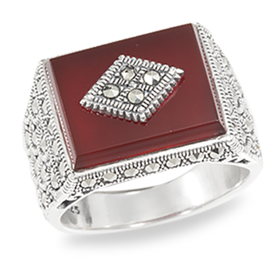 Marcasite jewelry ring HR0940 1