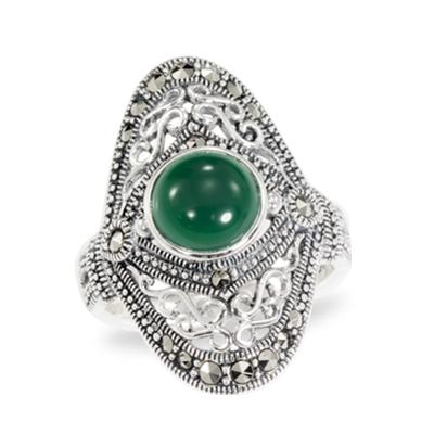 Marcasite jewelry ring HR0941 1
