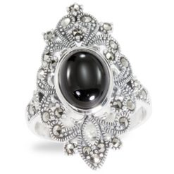 Marcasite jewelry ring HR0942 1
