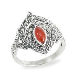 Marcasite jewelry ring HR0945 1