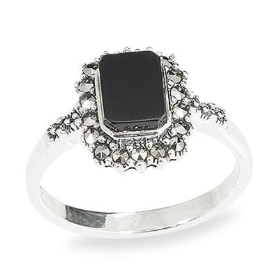 Marcasite jewelry ring HR0948 1