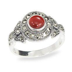 Marcasite jewelry ring HR0950 1