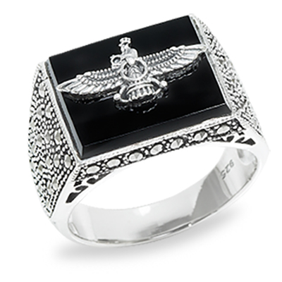 Marcasite jewelry ring HR0951 1