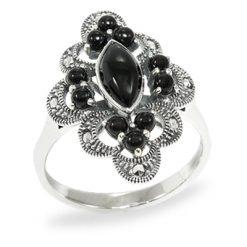 Marcasite jewelry ring HR0955 1