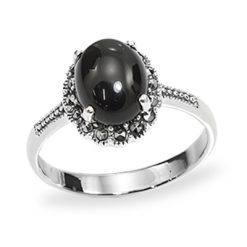 Marcasite jewelry ring HR0957 1