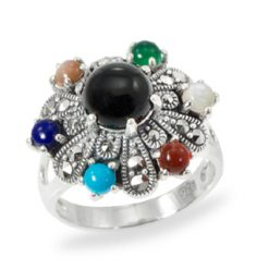 Marcasite jewelry ring HR0959 1