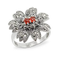 Marcasite jewelry ring HR0960 1