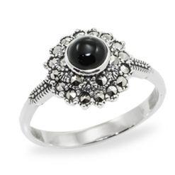 Marcasite jewelry ring HR0961 1