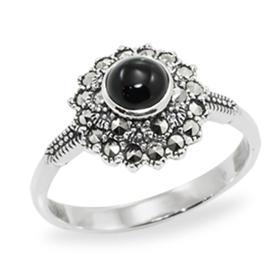 Marcasite jewelry ring HR0961 1