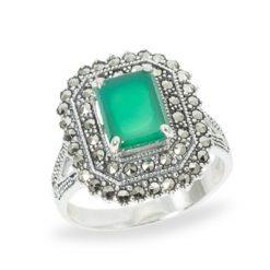 Marcasite jewelry ring HR0963 1