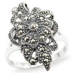 Marcasite jewelry ring HR0968 1