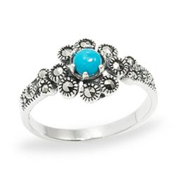 Marcasite jewelry ring HR0984 1