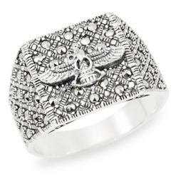 Marcasite jewelry ring HR0991 1