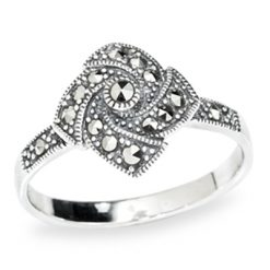 Marcasite jewelry ring HR0993 1