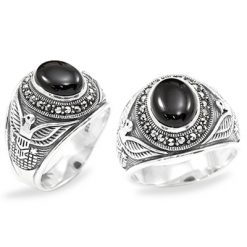 Marcasite jewelry ring HR0995 1