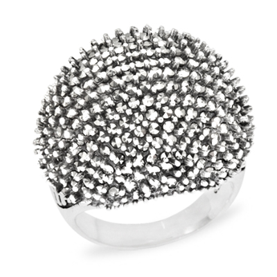 Marcasite jewelry ring HR1000 1