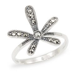 Marcasite jewelry ring HR1001 1