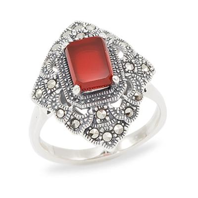 Marcasite jewelry ring HR1010 1