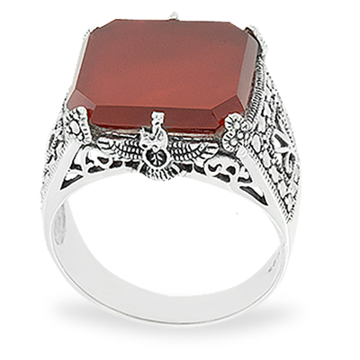 Marcasite jewelry ring HR1012 1