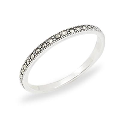 Marcasite jewelry ring HR1016 1