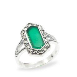Marcasite jewelry ring HR1021 1