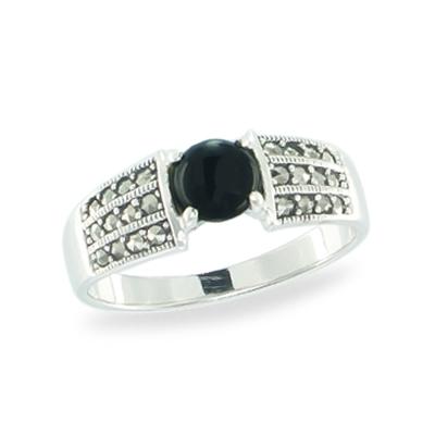 Marcasite jewelry ring HR1028 1
