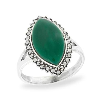Marcasite jewelry ring HR1045 1