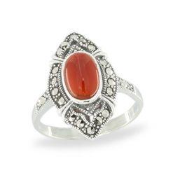 Marcasite jewelry ring HR1049 1